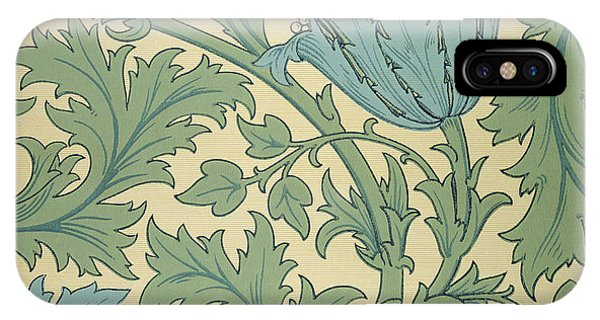 Repeat iPhone Case - Anemone Design by William Morris