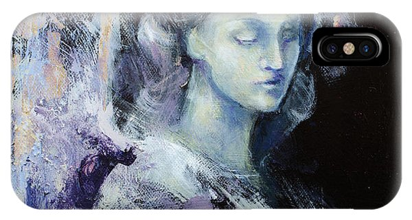 Haven iPhone Case - Angel 2 by Dorina Costras