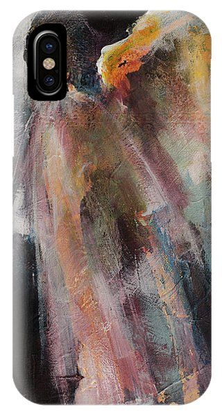 Haven iPhone Case - Angel 6 by Dorina Costras