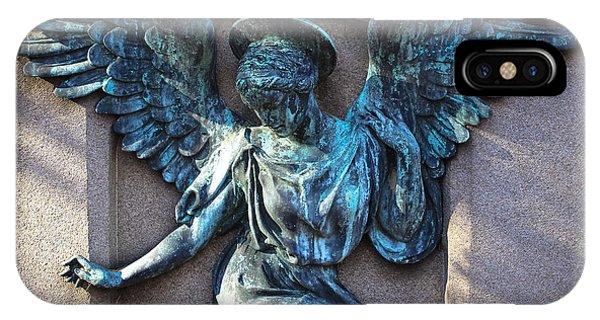 Angel Art - Guardian Angel IPhone Case