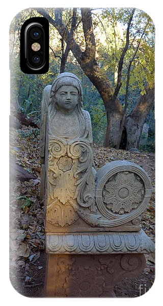 Angel Bench Autumn Sedona IPhone Case