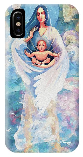 Angel Blessing IPhone Case