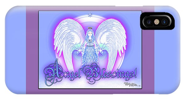 Angel Blessings #196 IPhone Case