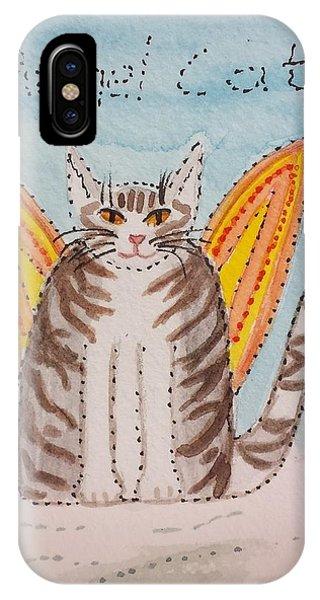 Angel Cat IPhone Case