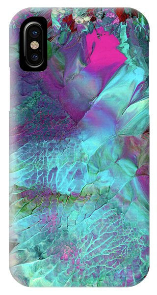 Angel Daphne Flowers #2 IPhone Case