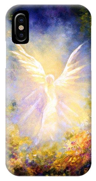 Angel Descending IPhone Case