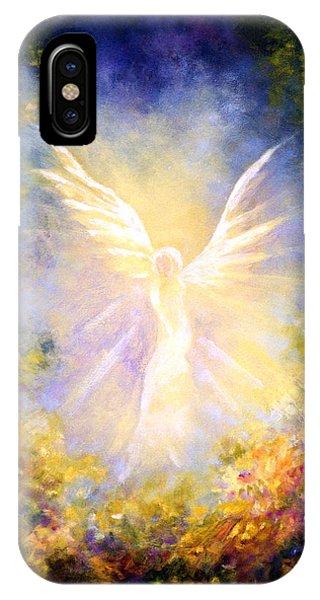 Fairy iPhone Case - Angel Descending by Marina Petro