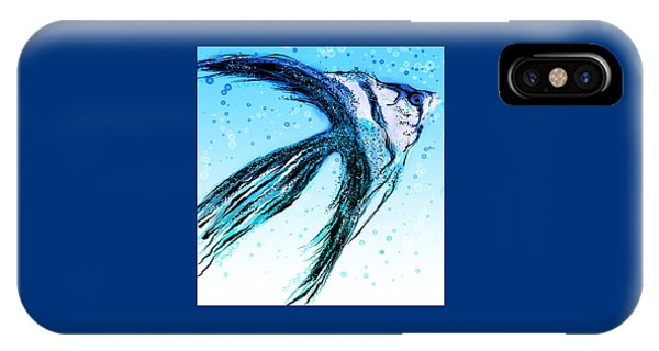 Angel Fish Art IPhone Case