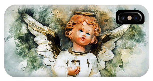 Spirituality iPhone Case - Angel From Heaven by Ian Mitchell