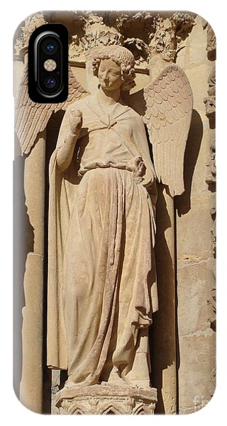 Angel In Reims IPhone Case