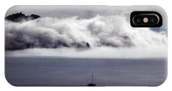 Angel Island Fog IPhone Case
