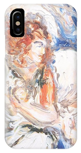 Angel Of Courage IPhone Case