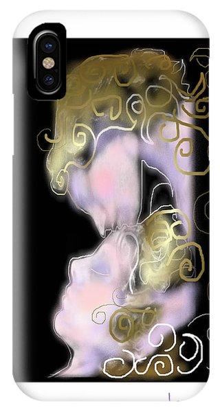 Angel Of Death Kiss IPhone Case