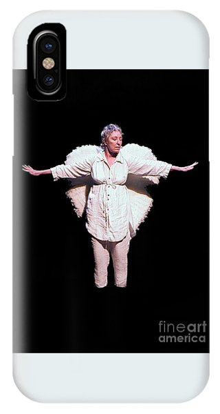 iPhone Case - Angel Of Death by Uldra Johnson