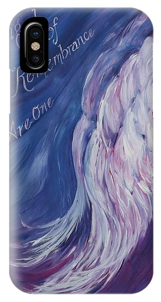 Angel Of Remembrance IPhone Case