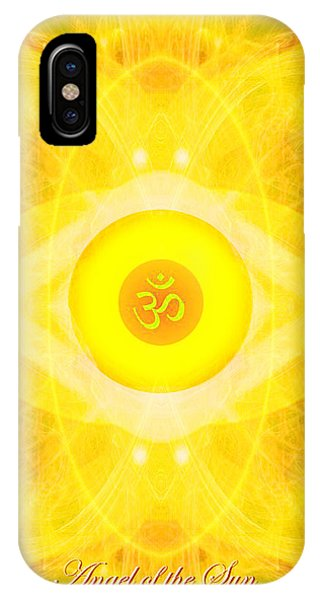 Angel Of The Sun IPhone Case