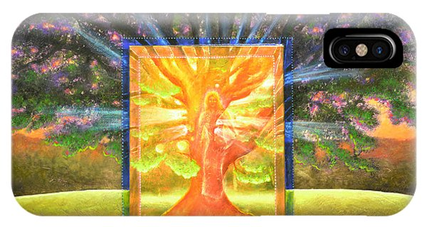 Angel Of The Trees IPhone Case