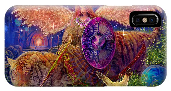 Angel Tarot Card Angel Fairy Dream IPhone Case