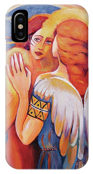 Angel Touch IPhone Case