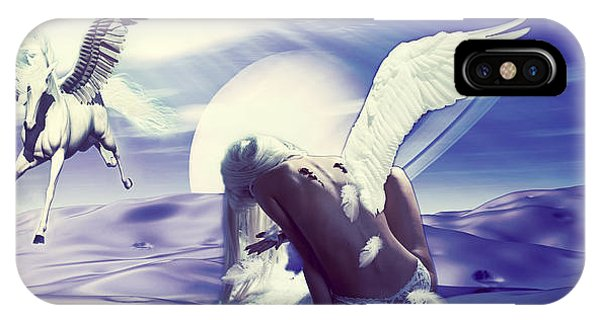 Angel With A Broken Wing IPhone Case