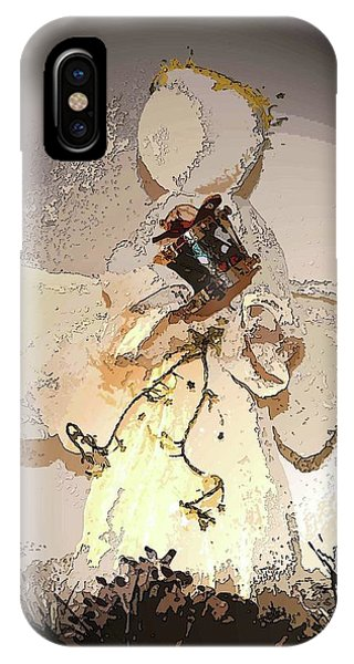 Angel With Drum IPhone Case