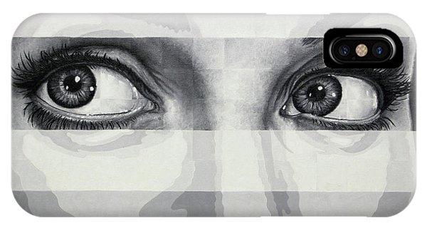 Angelina's Eyes IPhone Case