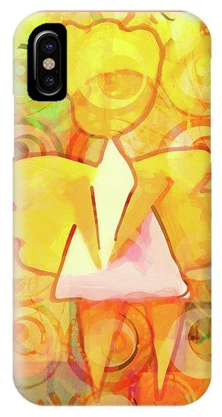 Angelino Yellow IPhone Case