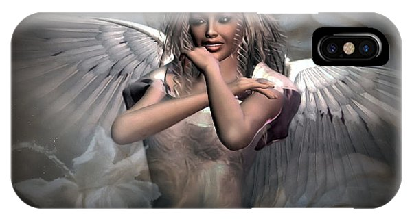 Spirituality iPhone Case - Angels Bliss by G Berry
