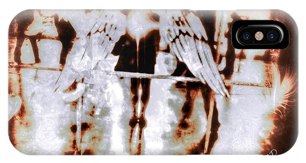Angels In The Mirror IPhone Case