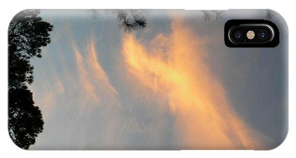 Angels Over The Front Yard IPhone Case
