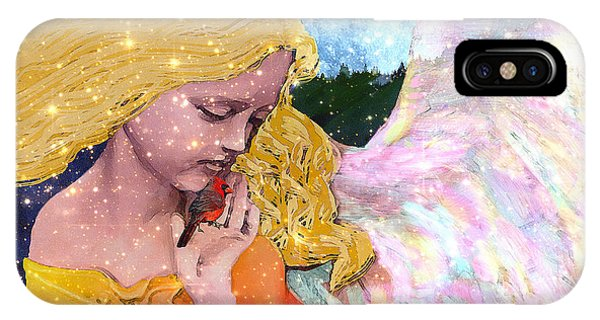 Angels Protect The Innocents IPhone Case