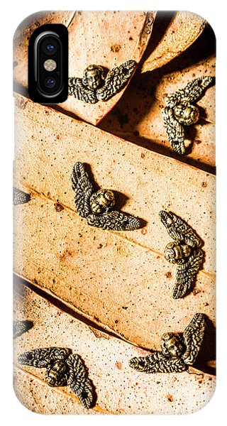 Cupid iPhone Case - Angels With Wings by Jorgo Photography - Wall Art Gallery