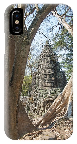 Angkor Thom South Gate IPhone Case