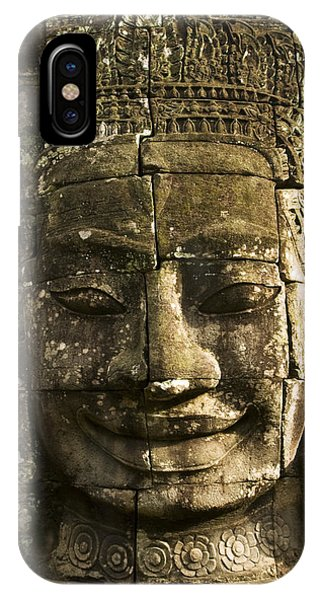 Angkor Wat Face IPhone Case