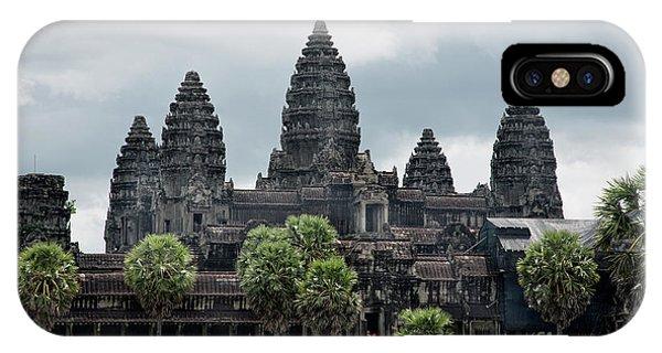 Angkor Wat Focus  IPhone Case