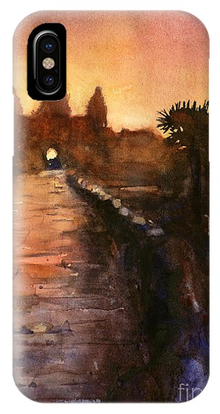Angkor Wat Sunrise 2 IPhone Case