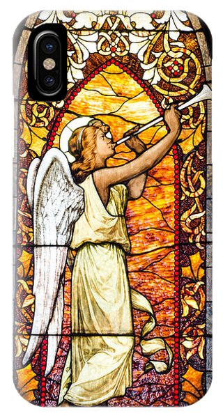 Angel In Glass IPhone Case