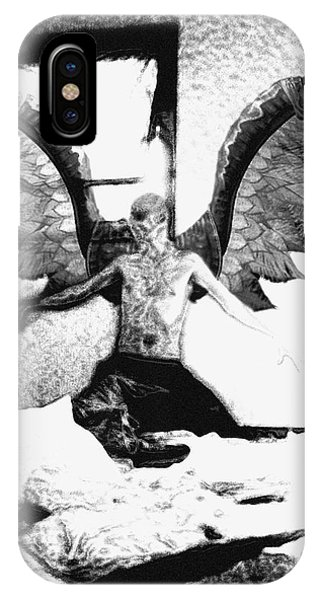 Angle Of Darkness Phone Case by Jack Norton