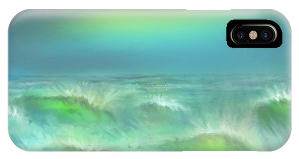 Angry Irma IPhone Case