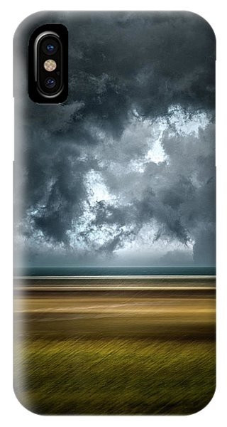 Angry Sky IPhone Case