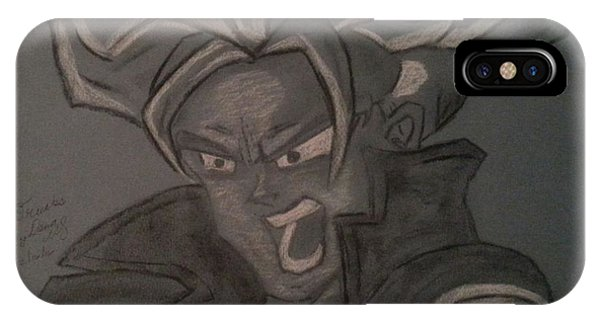 Saiyans iPhone Case - Angry Trunks by Dana Wildy