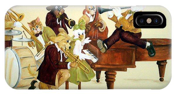 Animal Jazz Band IPhone Case