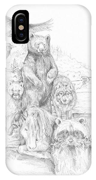 Animal Wisdom IPhone Case