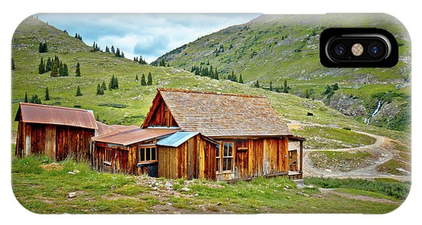 Anima iPhone Case - Animas Forks Homestead by Linda Unger