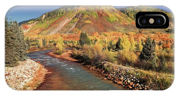 Anima iPhone Case - Animas River In Silverton by Donna Kennedy