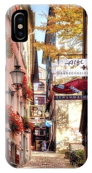Ankengasse Street Zurich IPhone Case