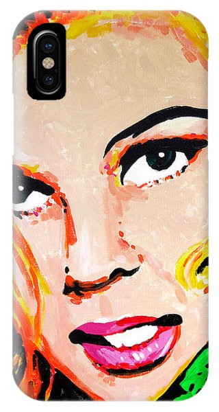 IPhone Case featuring the painting Ann-m by Rick Baldwin