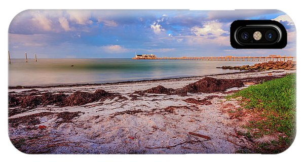 IPhone Case featuring the photograph Anna Maria City Pier by Doug Camara