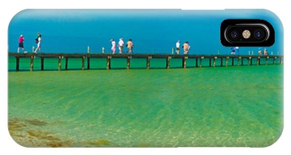 Anna Maria Island Historic City Pier Panorama IPhone Case