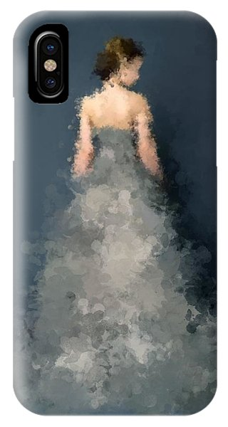 IPhone Case featuring the digital art Anna by Nancy Levan
